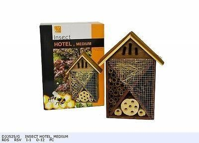 Insect Hotel.  Bee house. For all sorts of insects. D33525 medium