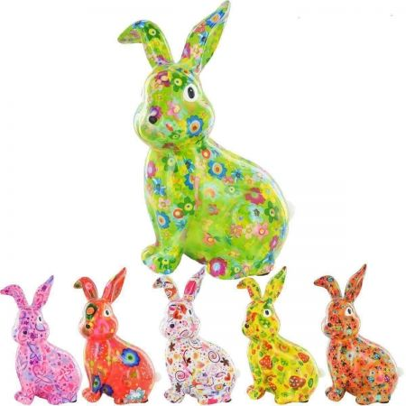 HELENA the rabbit Pomme pidou money box. Single item. CHOOSE COLOUR