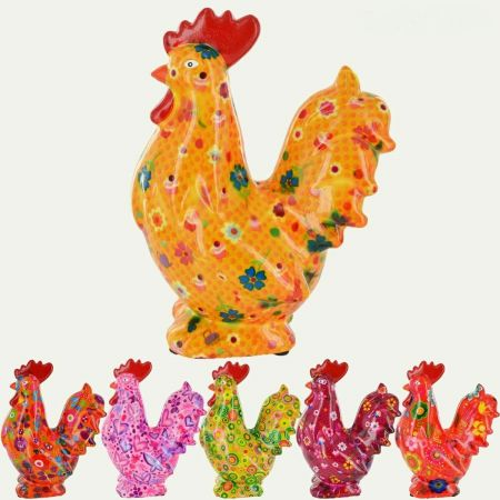 Maurice the rooster Pomme pidou moneybox. Each one is unique! Choose the colour.
