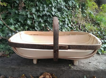 Traditional hand made Sussex garden trug. Royal Sussex Design. Available in different sizes.