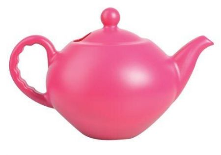 Fabulous Large Teapot Plastic Watering Can[Pink]