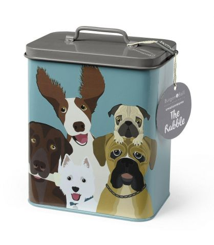 Burgon & Ball Storage Tin featuring The Rabble