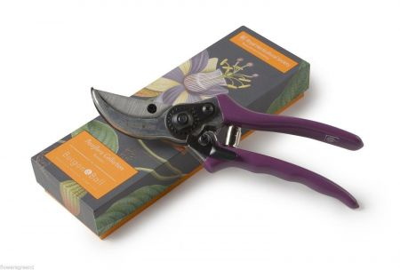 RHS Gifts from Burgon & Ball. PASSIFLORA Design Secateurs in Gift Box