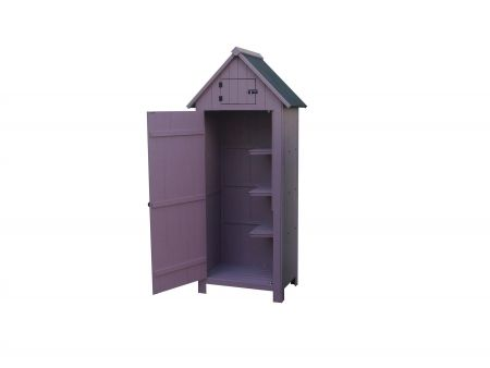 Sentry Garden Shed in Vintage Plum Colour