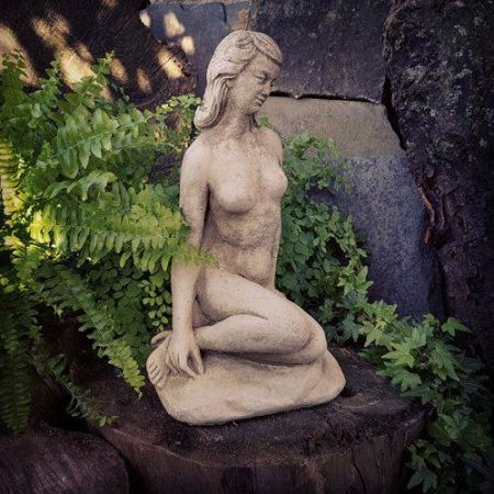 Nude Girl Garden Ornament made from Reconstituted Stone