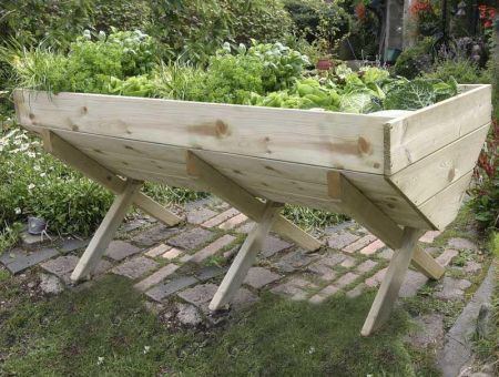 Wooden Garden Vegetable Bed 2M