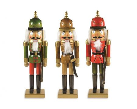 Green Christmas Soldier Ornament from the Nutcracker Suite.