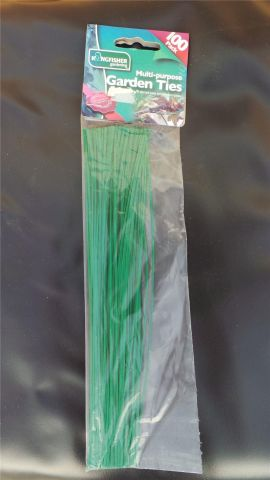 Multi Purpose Garden Ties Pack of 100 x2