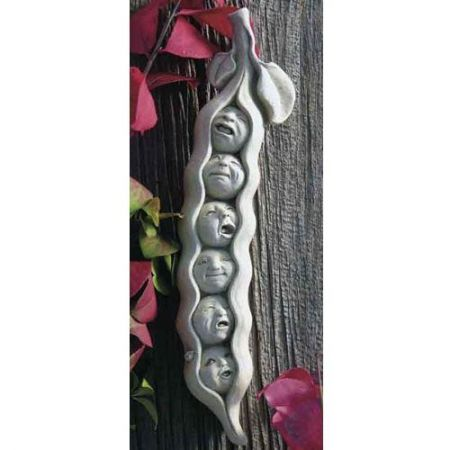 Sweet Pea Sextuplets Home & Garden Ornament Made from Reconstituted Stone
