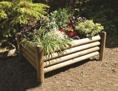 Wooden Garden Shrewsbury Planters (Pack of 2)