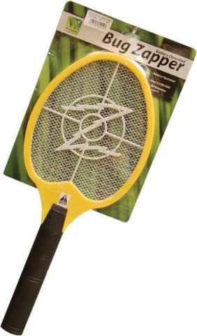 Cordless Battery Electric Fly Mosquito Swatter Bug Zapper Racket Insects Killer