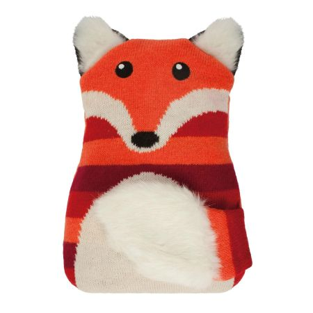 Knitted Microwavable Warming Hotties with Lavender Fragrance. Adult Size FOX