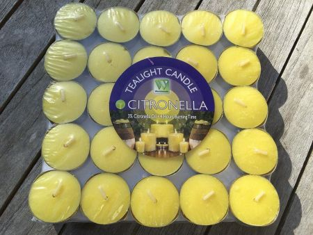 Citronella Tealights x 50.