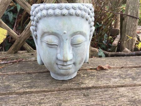Buddha Planter / Pot Cover - Medium Size 16cm diameter