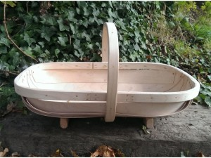 Traditional trug made in Herstmonceux, East Sussex