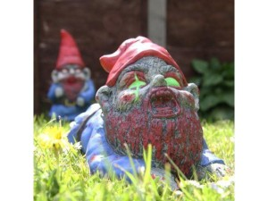Zombie gnome for the garden