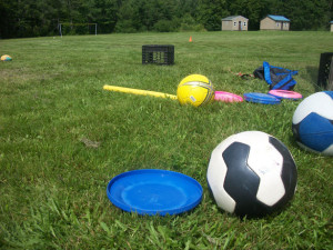 outdoor games in the park and garden
