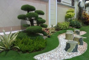 Japanses garden spaces flow
