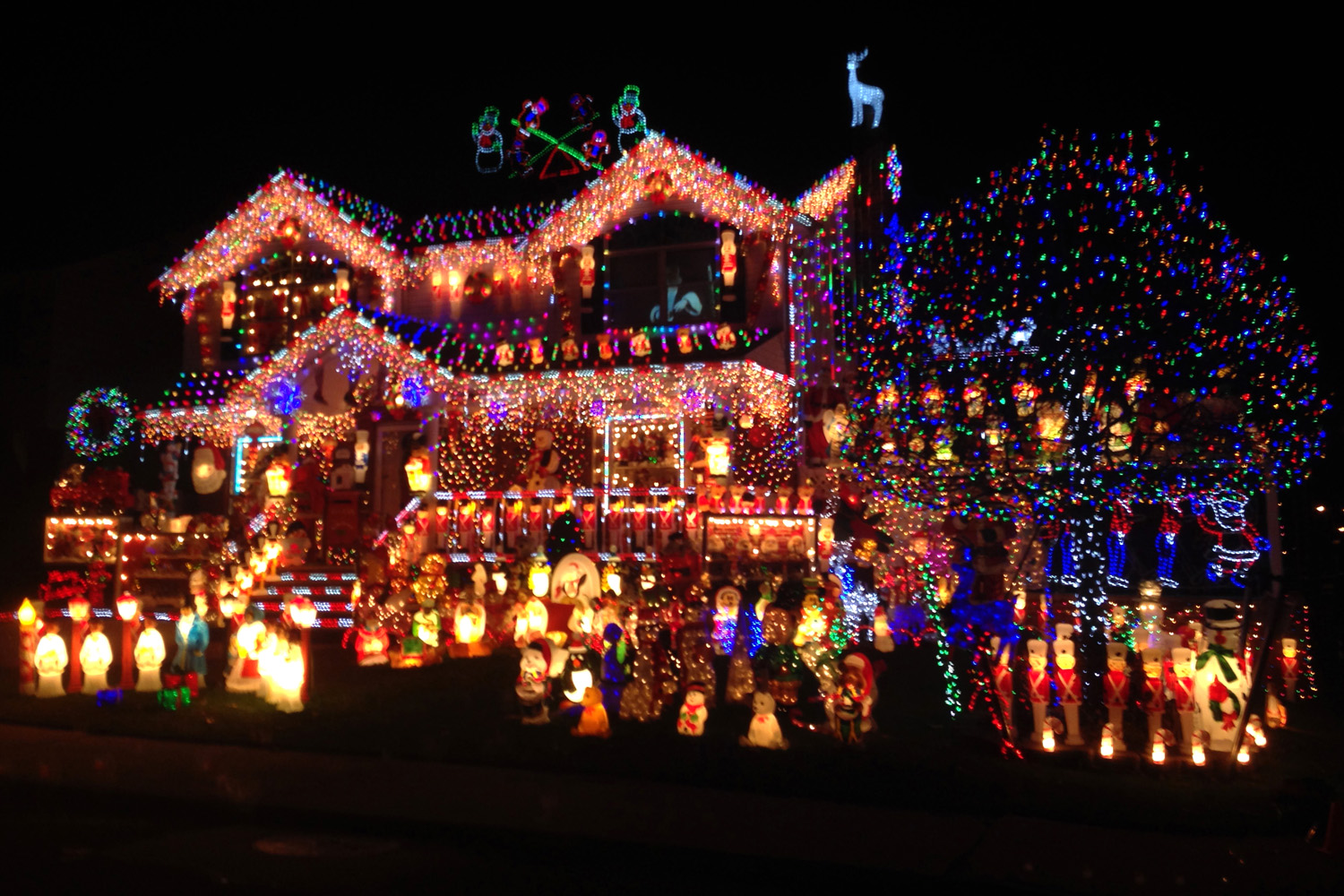 Most decorated christmas house uk buy