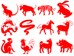 Chinese, zodiac, animals, New Year, feng shui