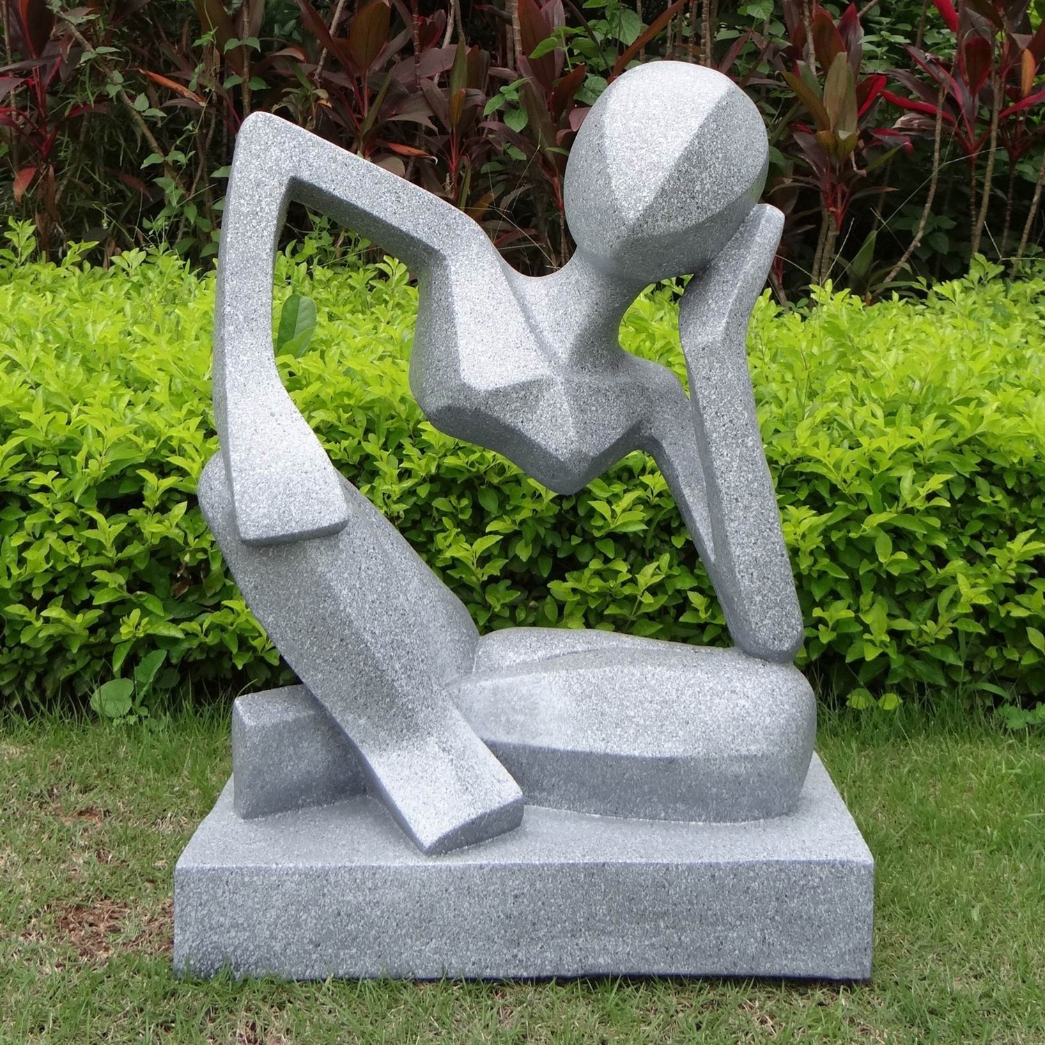 Three reasons to have statues in the garden flamingo perfect plants - Sculpture de jardin contemporaine ...