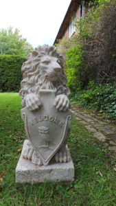 Lion for the garden, lion, cecil, sculpture, ornament, garden, decoration, statue