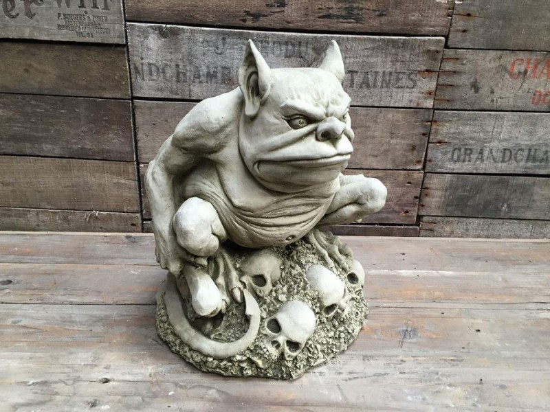 Troll, Garden, Statue, Ornament, Ugly, Decoration, Embellishment, Adornment,