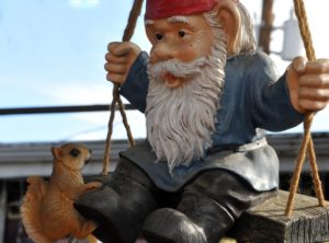 Gnome, garden gnome, garden, outdoors, trends, quirky, retro, TV, makeover