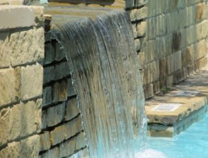 Water feature, garden, makeover, TV, landscaping, renovating, building, plants
