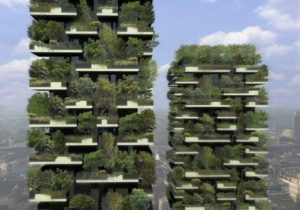 Bosco Verticale, Milan, green, growing, plants, city, vertical growing, forest, trees, eco, environment