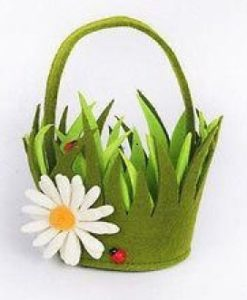 Easter basket, flowers, chocolate, eggs, treasure hunt, egg hunt, Easter, kids, children, garden, perfectplants.co.uk, perfect plants