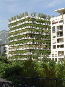Sustainable, greening, vertical, balcony planting, apartments, gardening, plants, trees, green