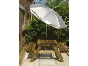 umbrella, parasol, garden, shade, summer, patio, resting, relaxing, sitting, table and chairs,