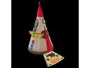 teepee, play tent, tent, garden game, kids in the garden, playing,