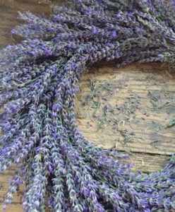 wreath, lavender wreath, lavender, lavandula, flowers, scent, aromatic, purple, lilac, scented, decoration, door ring,