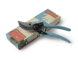 blue secateurs from RHS Burgon & Ball would make a great Christmas gift