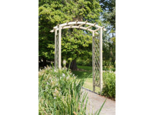 wooden garden arch is ideal for climbers