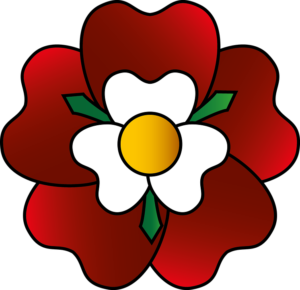 The tudor rose was adopted as a badge by Henry VII