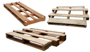 wooden pallets for recycling